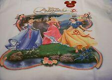 New Disney Classic Cinderella Aurora Snow White Princess T-Shirt Girls Large
