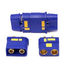 1 Paar Hochstrom EC8 EC8S QS8S QS8 Goldstecker Stecker Buchse 150A Antiblitz