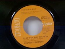 "GUESS WHO ""CLAP FOR THE WOLFMAN / ROAD FOOD"" 45"