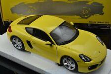 1:18 2013 porsche cayman, yellow MINICHAMPS, 110062220