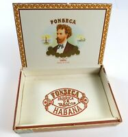 Vintage Fonseca Habana Fabrica de Tabacos Wood Cigar Box