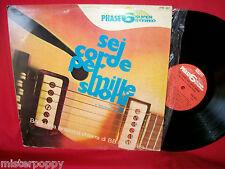 BRUNO BATTISTI D'AMARIO Sei corde per Mille Suoni PHASE 6 Library LP 1969 ITALY