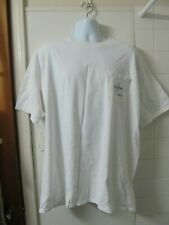Guy Harvey Men's Short Sleeve Fishing Graphic Tee White sz 2XL