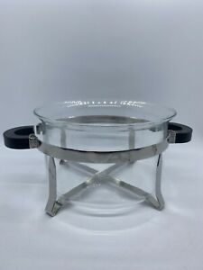 Bodum Hot Pot Glass with Stainless Steel Metal Base