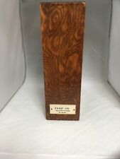 TUNE IN National RADIO Magazine Wood Storage Box Unique & Vintage  13 X 9.5 X 4