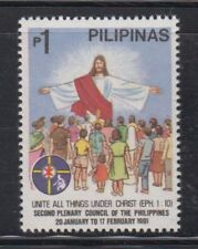 Philippine Stamp 1991 2nd Plenary Council (Jesus w/ Multitude) complete MNH