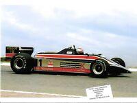 LOTUS 81 ESSEX MARIO ANDRETTI GP PHOTOGRAPH 1980  TESTING PRESS GRAND PRIX F1