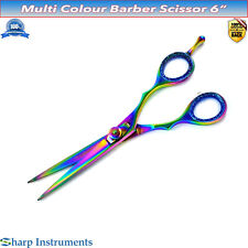 Barber Salon Scissors 6'' Hairdressing Shears Hair Cutting Styling Triming Razor