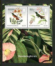 Montserrat, MNH Bird: Bronze-tailed Plumeleteer,Collared Inca  2014. x19766