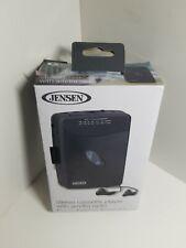 Jensen Walkman Portable Compact Design Stereo Cassette Player w AM FM Radio NEW