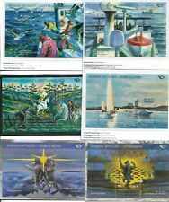 "Aland 2004 – 2014 Sheets ""Life at the coast and Mythical Places MNH. Complete."