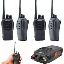 2x Baofeng BF-888S Uhf 400-470MHz radio de dos vías Jamón walkie talkie de largo alcance