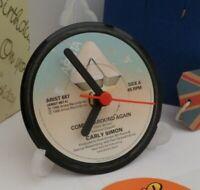 *new* CARLY SIMON vinyl record CLOCK - An actual original vinyl record