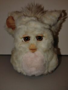 FURBY 2005 Hasbro Tiger 59294 WORKS Beige Tan W Pink Belly