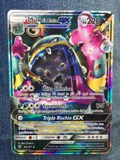 POKEMON card  # MUK di Alola GX  # GX EX MEGA RARA •Carta ITA •84/147 •Ps220