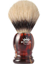 Mondial 1908 Boar Shaving Brush Tortoise Shell