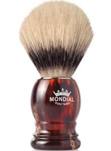 Mondial 1908 Boar Shaving Brush Tortoise Shell