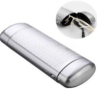 Silver Hard Metal Glasses Case Storage Aluminum Sunglasses Case Boxes Protector