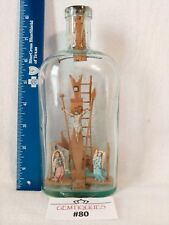 BOTTLE WHIMSEY Vintage Arms of Christ Folklore Religion gifts Arma Christi