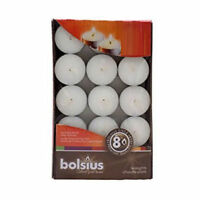 25 Bolsius Long 8 Hour Hours Burn Tealight Tealights Tea Light Lights Candles