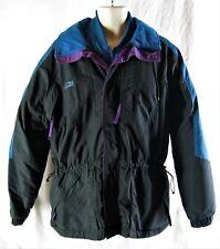 Columbia Sportswear Men Size Large Double Ski Jacket Blue Black Purple