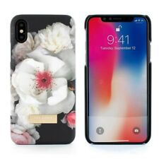 Ted Baker Soft Feel Hard Shell Floral Case for iPhone X / XS - Chelsea (Black)