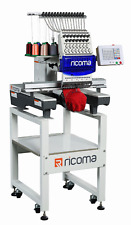 Ricoma Tc-1501 15 Needle, Single Head Commercial Embroidery Machine with Extras!
