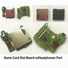 For Nintendo Switch Console Game Card Slot Socket with Earphone Headphones Port