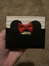 New listing Used Kate Spade Disney Minnie Mouse Card Holder Case Limited Edition