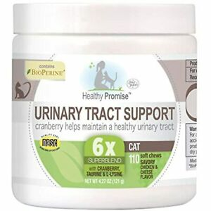 Four Paws Healthy Promise Cat Urinary Tract Supplement Soft Chews 110 Count 4.27