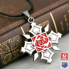 Anime Vampire Knight Yuki Cross Kuran Tattoo Symbol Cosplay Necklace Pendant