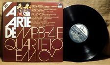 BRAZIL VARIOUS 2x LP: A Arte De MPB-4 E Quarteto Em Cy 1982 Fontany 6606 002 GF