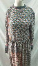 abito donna stile vintage  lungo  taglia 44 poliammide