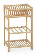 3 Tier Shelving Storage Wood Stand Shelves; Shoe rack Bathroom Kitchen storage