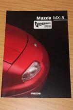 Mazda MX-5 Range 1997 Sales Brochure 1.6, 1.8 and 1.8iS range brochure