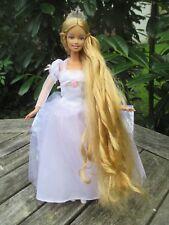 Barbie Rapunzel COLLECTOR Hochzeits WEDDING SONDEREDITION - Krone mit LICHT ~RAR