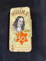 Willem II No30 Cigar/cigarillo Tin,  Empty, Holland