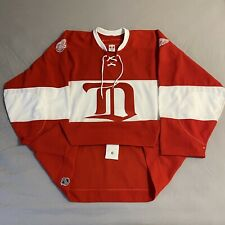 Detroit Red Wings Alumni CCM Air-Knit Team Issued Size 58 NHL Jersey