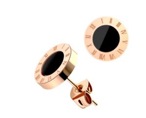 New Fashion Fringe Rhinnestone Drop Studs Round Jewelry Dangle Women Earrings
