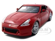 2009 NISSAN 370Z RED 1:24 DIECAST MODEL CAR BY MAISTO 31200