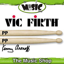 3 Pairs of Vic Firth Signature Kenny Aronoff Wood Tip Drumsticks -PP Drum Sticks