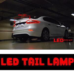 LED Tail Light Lamp DIY Full Set 14p 1Set For 10 11 12 Renault Fluence Sm3
