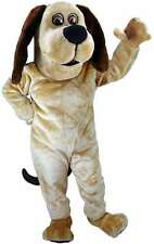 Tan Dog Professional Quality Lightweight Mascot Costume Adult Size