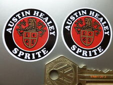 AUSTIN HEALEY SPRITE 40mm round stickers