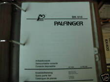 Palfinger BK 010 Demountable Console Parts List