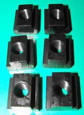 Pack of 6 Tee Nuts 10mm table slot M8 stud
