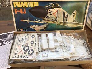 REVELL PHANTOM F-4J 1/32 vintage model kit STILL SEALED (New Old Stock)