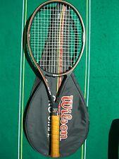Wilson Original Pro Staff Midsize 85 16x18 Racket 3/8 Cover Strung EXCL 6.0