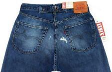 Levis Vintage Clothing 1937 501 XX Selvedge Jeans Mens 30 Velzy Cropped Big E
