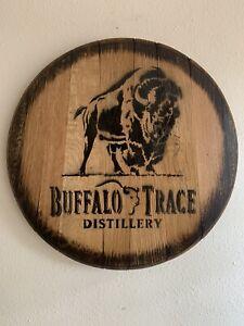 Buffalo Trace Reclaimed Whiskey Barrel Head